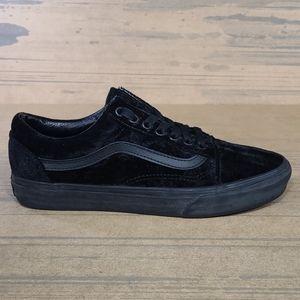 Vans Old Skool Black Velvet Unisex Shoes